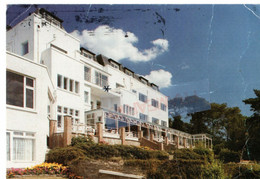 Poole Harbour Heights Hotel Large Format Postcard Used - Altri