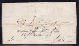Italy -Undated Wrapper - Ferentino To Sutri - 1. ...-1850 Prephilately