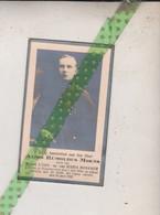 Alois Rumoldus Moens-Rossaer, Waasmunster 1910, 1932 - Overlijden
