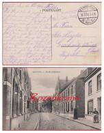 Bataillon Allemand Feldpostkarte Briefstempel Feldpost Erster Weltkrieg 1917 Ardoye Kerkstraat 1 Kompagnie 51 Res Div - Army: German