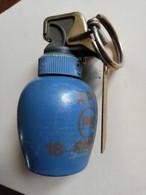 Grenade Française Offensive D'exercice à Plâtre, Neutralisée Inerte ( R 31 ) - Decorative Weapons