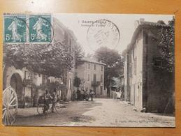 Cpa Sainte Cécile (84) Avenue De Vaison - Other Municipalities