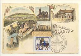 122  Saint Martin De Tours: Carte Maxi D'Allemagne 1984 - Saint Martin Maximum Card. Christianity Christianisme - Cristianismo