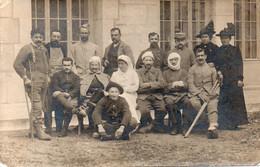 CPA 73 - Carte Photo F. Besson Hopital Militaire Blessés De Guerre Chambéry -  Belle Carte A VOIR - Chambery