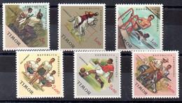 Timor Serie Nº Yvert 322/27 **  DEPORTES (SPORTS) - East Timor