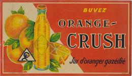 ORANGE CRUSH  Buvez Jus D'oranges Gazéifié - Autres