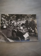 23275 PHOTO DE PRESSE   24CMX18CM  8-8-1976 NAUSSAC LOZERE MARCHE DU COMITE DE DEFENSE DE LA VALLEE DE NAUSSAC - Zonder Classificatie