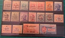 ITALIE - 1919 - TRENTE Et TRIESTE - N°1 à 14  +Taxe 1-5-6 - Neufs Avec Charnière - Cote 17€ - - Non Classificati