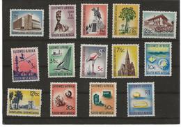 SOUTH WEST AFRICANO 1961 (14V) MICHEL NUEVO - Neufs