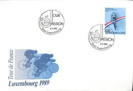 NB - [904098]B/TB//-Luxembourg 1989 - Depart Du Tour De France, Sports, Cyclisme - Ciclismo