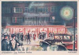 """Allemagne, Berlin, Ballhaus """"Femina""""Tauenzienstrasse Ecke Nuernbergerstrasse (31.12.10) 10x15 - Charlottenburg"""