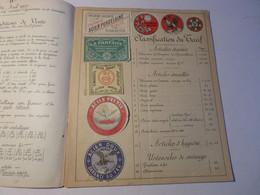 F. GODART   PARIS  :  CATALOGUE ARTICLES DE MENAGE   1907 - 1900 – 1949