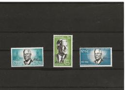 SUD  AFRICA 356/358  (3V) 1966 MICHEL NUEVO - Neufs