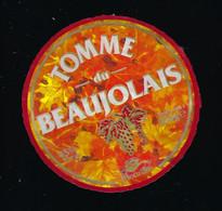 Echalas 69 Rhone étiquette Fromage Tomme Du Beaujolais 45%mg  350g  Bourdin - Cheese