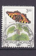 NORWAY USED STAMP - Butterflies