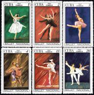 CUBA 1967, BALLET ART, INTERNATIONAL FESTIVAL In HAVANA, COMPLETE, MNH SET In GOOD QUALITY, *** - Unused Stamps