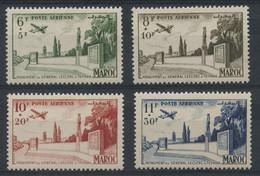 Maroc PA N 89 A 92 (charniere) Non Emis - Unclassified