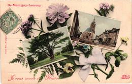 77 - Montigny-lencoup - Je Vous Envoie Ces Fleurs - Sonstige Gemeinden