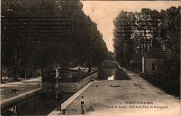 77 - Moret-sur-loing - Canal Du Loing - écluse Du Pont De Bourgogne - Moret Sur Loing