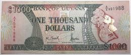 Guyana - 1000 Dollars - 1996 - PICK 33 - TTB+ - Guyana