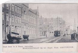 Amsterdam Marnixstraat Bij Het Haarlemmer Plein Tram Straatventers    2393 - Amsterdam