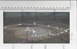 """RARE - Carte Double Longue - PARIS (75) Voeux De La Mairie De PARIS """"redessiner Paris, L'eau, La Géographie"""" - Panoramic Views"""
