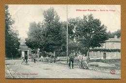 """VILLE-SUR-TOURBE  (51) : """" SORTIE DU VILLAGE """" - Ville-sur-Tourbe"""