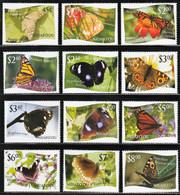 2012 Niuafo'ou Butterflies Set (** / MNH / UMM) - Butterflies