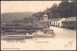 +++ CPA - Environs De Cugnon - Bertrix - Ardoisière De LINGLAY - Nels Série 40 N° 289  // - Bertrix