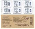CARNET 6TP CIAPPA - TVP EUROPE DATAMATRIX -  DATE DU 20 08 15 - NEUF - NON PLIE - Uso Corrente