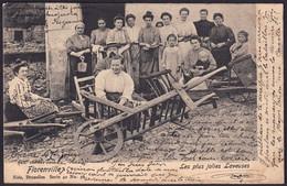 +++ CPA - FLORENVILLE - Les Plus Jolies Laveuses - Gros Plan 1904 - Nels Série 40 N° 56   // - Florenville