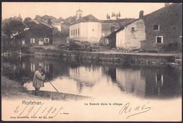 +++ CPA - MORTEHAN - Bertrix - La Semois Dans Le Village - Nels Série 40 N° 296 - Cachet Relais De Cugnon 1905 // - Bertrix