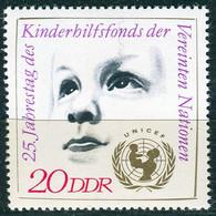 DDR - Mi 1690 ✶✶ (E) - 20Pf   UNICEF - Ongebruikt