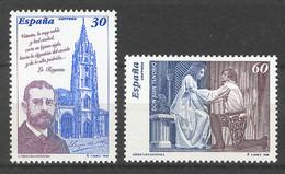 Spain 1996 - Personajes De Ficcion Ed 3456-57 (**) Mi 3302-3303 - 1991-00 Nuevos & Fijasellos
