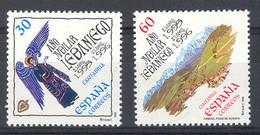 Spain 1995 - A. Jubilar Lebaniego Ed 3354-55 (**) Mi 3210-3211 - 1991-00 Nuevos & Fijasellos