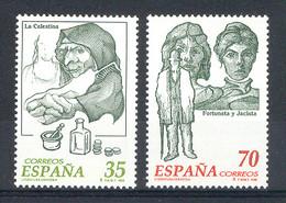Spain 1998 - Personajes De Ficcion Ed 3538-39 (**) Mi 3379-3380 - 1991-00 Nuevos & Fijasellos