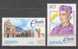 Spain 1995 - Exp. Espamer Y Espacio Ed 3404-05 (**) Mi 3255-3256 - 1991-00 Nuevos & Fijasellos