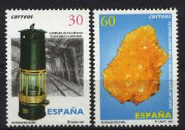 Spain 1996. Minerales - Fluorita Ed 3408-09 (**) Mi 3259-3260 - 1991-00 Nuevos & Fijasellos