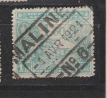 COB 119 Oblitération Centrale MALINES N°6 - 1915-1921