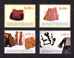 NATIONS-UNIES / KOSOVO- 2004 - Yvert N° 22/25 - NEUFS** LUXE/MNH - Série Complète 4 Valeurs, Costumes Traditionnels - Ungebraucht