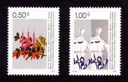 NATIONS-UNIES / KOSOVO- 2003 - Yvert N° 16/17 - NEUFS** LUXE/MNH - 2 Valeurs, Noël Et Nouvel An - Ungebraucht