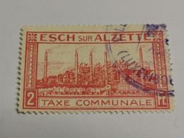 Timbre Taxe Communale 2F Esch-Alzette - Strafport