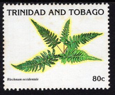 Trinidad & Tobago - 1991 - Ferns - Blechnum Occidentale - Mint Stamp - Trinidad & Tobago (1962-...)