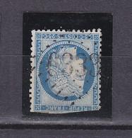 FRANCE 60 OBL GC 6339 PLOUNEVEZ LOCHRIST FINISTERE COUPE EN BAS - 1849-1876: Klassik