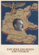 Deutsches Reich Postkarte Propaganda 1938 - Storia Postale