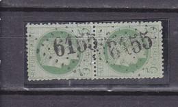 FRANCE 60 OBL GC 6155 ABANCOURT OISE - 1849-1876: Klassieke Periode