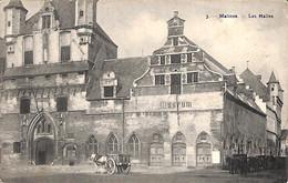 Malines - Mechelen -  Les Halles (Photo H Bertels 1908) - Mechelen