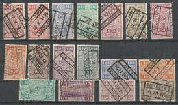 TP DE BELGIQUE CHEMIN DE FER N° TR 135/66 OBLITERES - 1923-1941