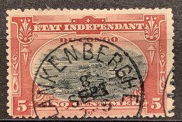 OBP 15 EC BLANKENBERGHE - 1894-1923 Mols: Usati