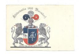 WARENDORF ABIFURIENTIA 1900 BLASON - Warendorf